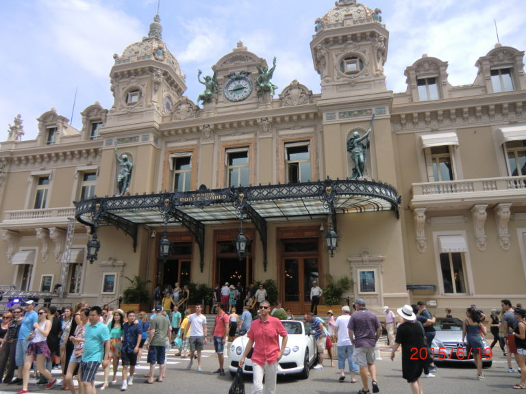 Monaco and Monte Carlo; playground of the rich