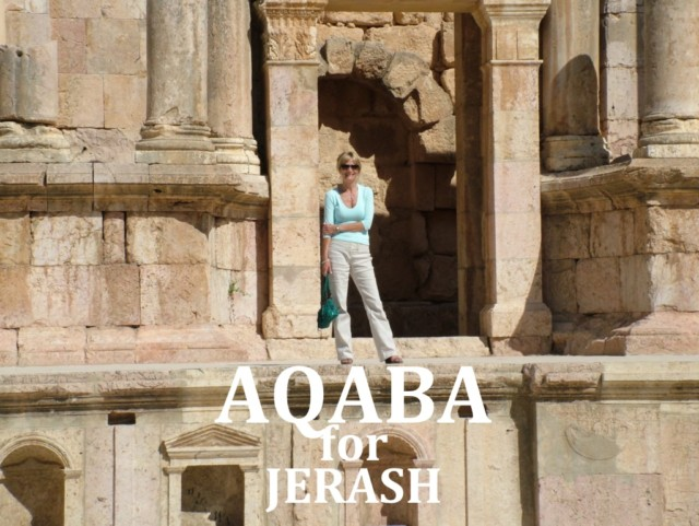AQABA port for an ambitious trip to the greatest Roman ruins in Jerash, Jordan