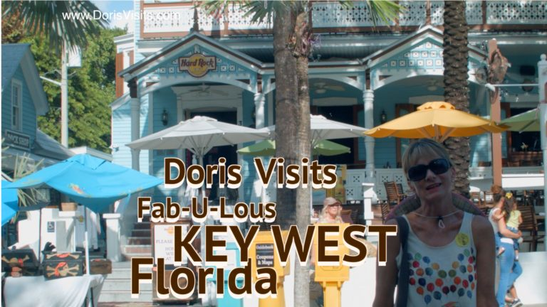 Key West explained, the tip of the USA filmed by Jean for Doris Visits