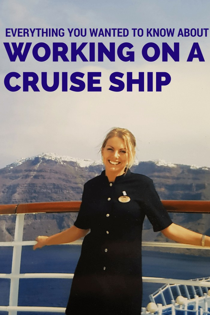 Working On Ship – Working in the Spa