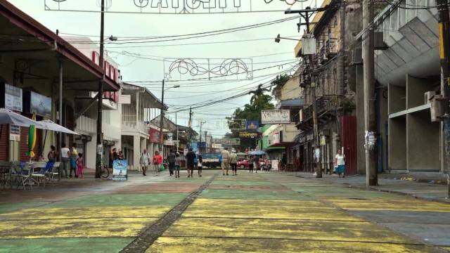 Puerto Limón, Costa Rica – tour by bus