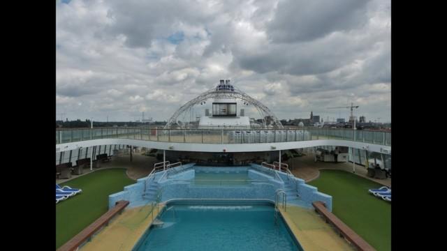 MV Columbus ship tour