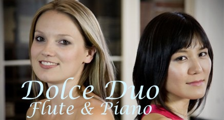 Dolce Duo; Lianna on flute and Yukiko on piano present fabulous recitals at sea