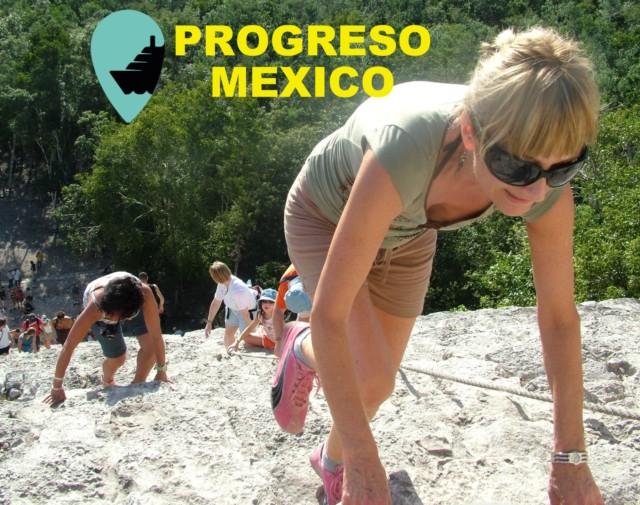 PROGRESO, Yucatan, Mexico. Cruise in for Chichen Itza