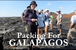 Galapagos, what to pack
