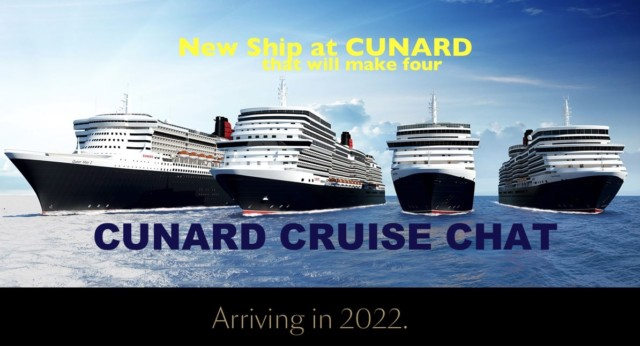 New Ship at Cunard, making 4 in the Cunard fleet