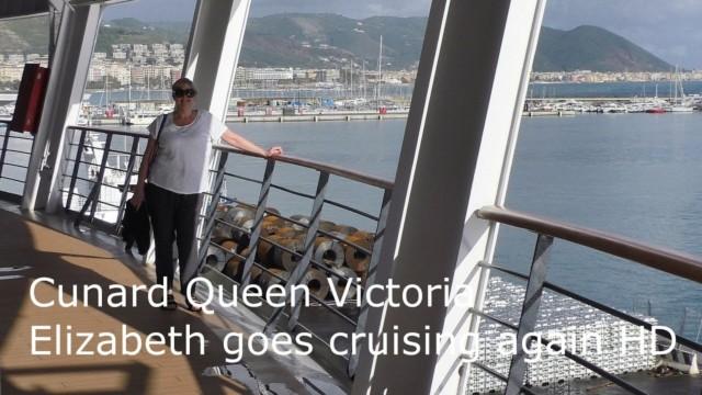 Cunard Queen Victoria – Elizabeth Goes Cruising