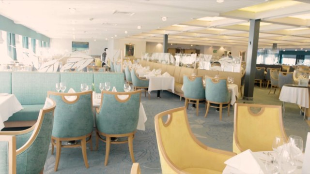 The Black Watch – Fred Olsen Cruise Ship – a look at the Glentanar Restaurant