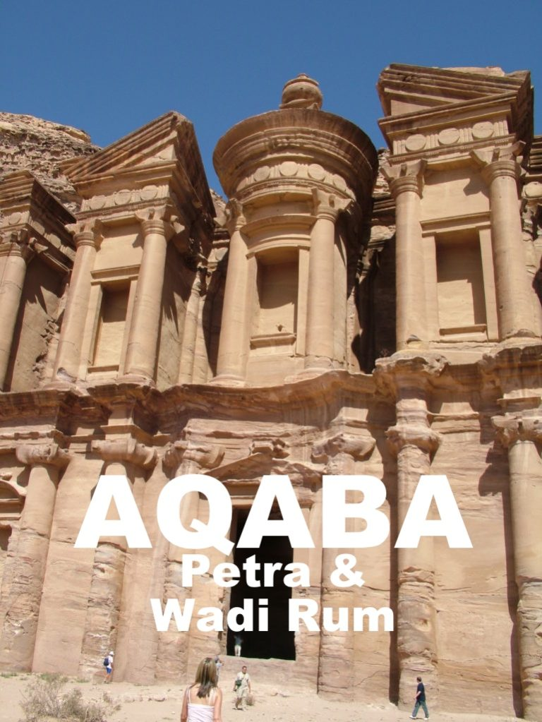 AQABA – stopover port for Petra, Wadi Rum & Dead Sea.