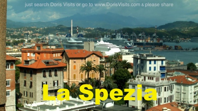 La Spezia Guide, video report by Jean for Doris Visits