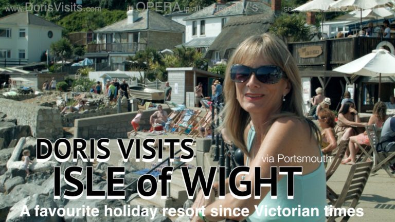 Waterloo to Portsmouth by train – Isle Of Wight trip before a cruise?