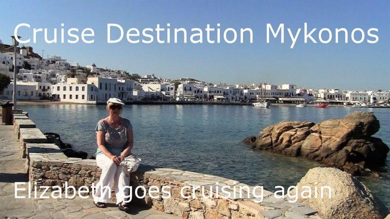 Mykonos, Greece. Cruise the sun and historic mythology