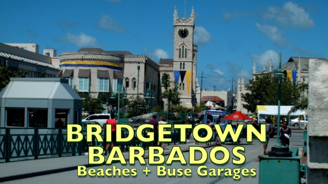Bridgetown, Barbados, peaceful paradise island with a reggae beat