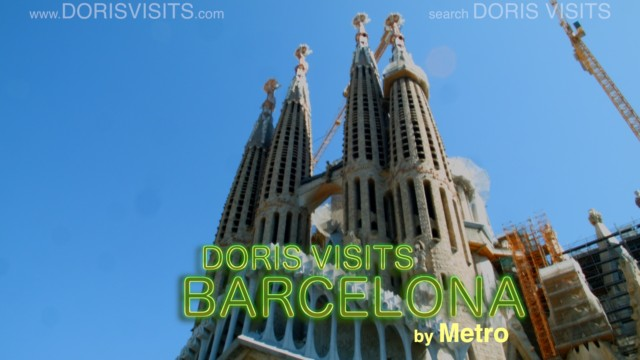 Barcelona, metro to Sagrada Familia and walking tour back to port