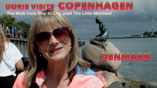 Copenhagen, Little Mermaid statue, where is it hiding?