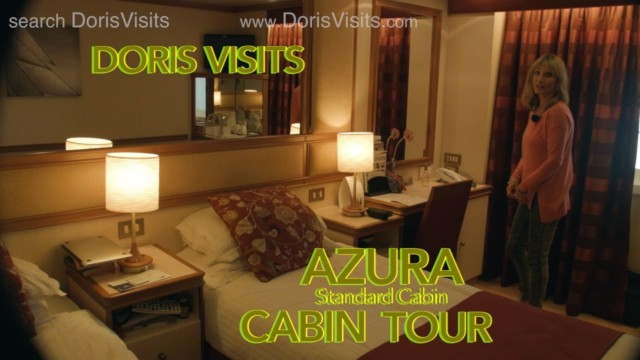 P&O Cabin Tour, Standard Cabin on P&O Cruise Ship AZURA