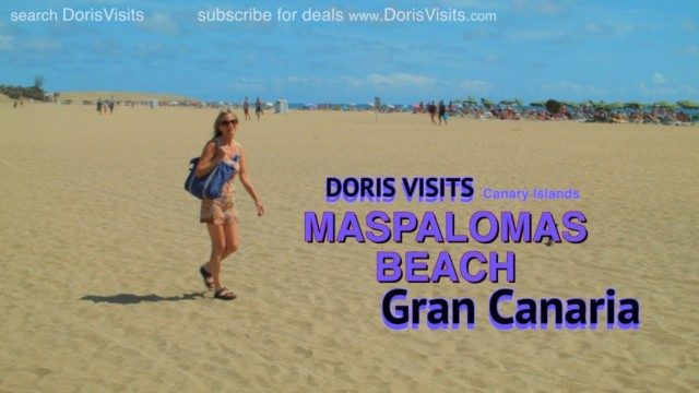 Gran Canaria, Maspalomas Beach by public bus from cruise terminal