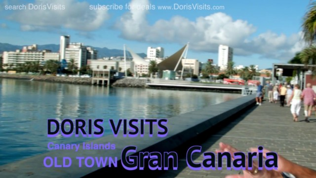 Gran Canaria, Old Town Guide. Jean's film from the Canary Islands.