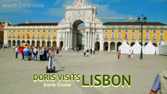 Lisbon, Jean reports for Doris Visits on the tail end of a Canary Islands Cruise
