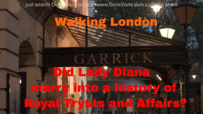 London walk of the Royal Family's Trysts and Affairs