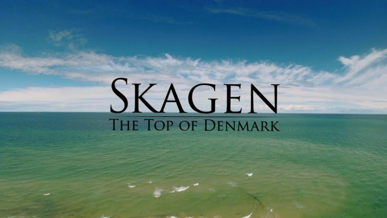 Skagen, Denmark – DRONE film. Skagen seen from the sky