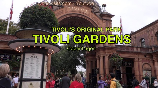 TIVOLI – the fun theme park in Copenhagen with something for everyone