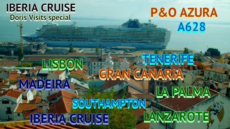 CRUISE ROUTE – Canary Islands. Azura route, similar to A811, B809, N811 & others will be similar