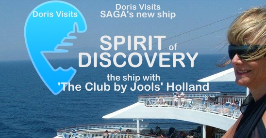 SAGA's new ships will be all-inclusive. Discovery was named in Dover