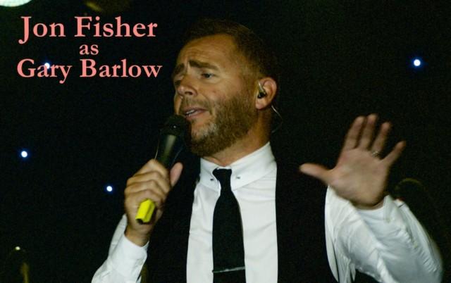 Jon Fisher, the foremost Gary Barlow tribute.