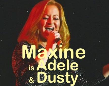 Maxine Mazumder is Dusty Springfield, Lulu and Adele