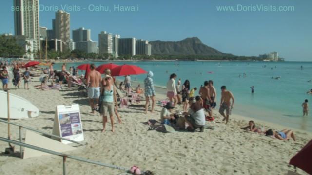 Honolulu on a world cruise stopping in Oahu, Hawaii. 'Book it Dano!'