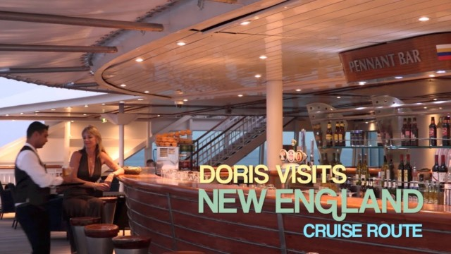 New England Cruise Route. Typical New England Cruise.