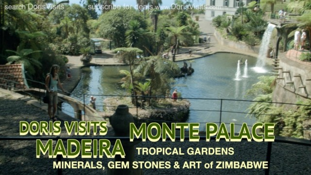 The Monte Palace Tropical Gardens in Madeira