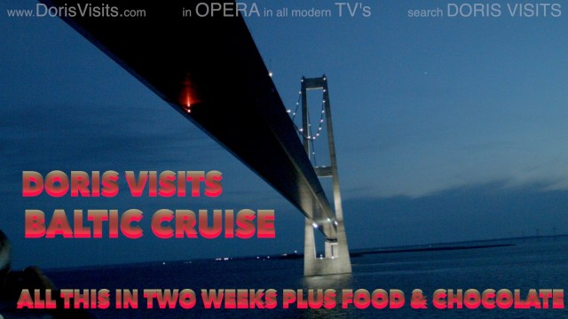 CRUISE ROUTE – Baltic Cruise, the many ports on film.