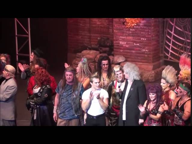 We Will Rock You – the musical at sea on the Anthem of the Seas