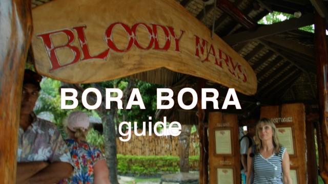 Bora Bora says Aloha!