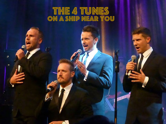 The 4 Tunes – West End leading men on a ship near you