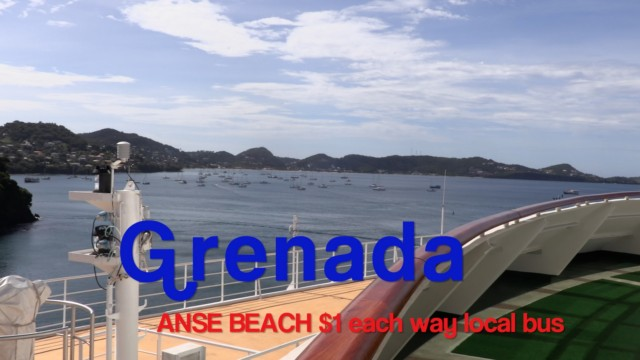 Anse Beach, Grenada. Yet another perfect beach in the Caribbean