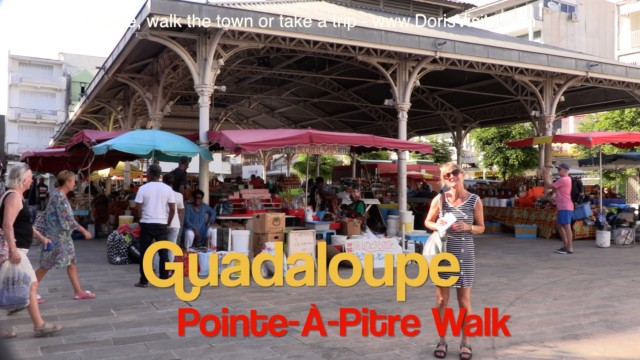 Guadeloupe, Pointe-à-Pitre Port, French Caribbean