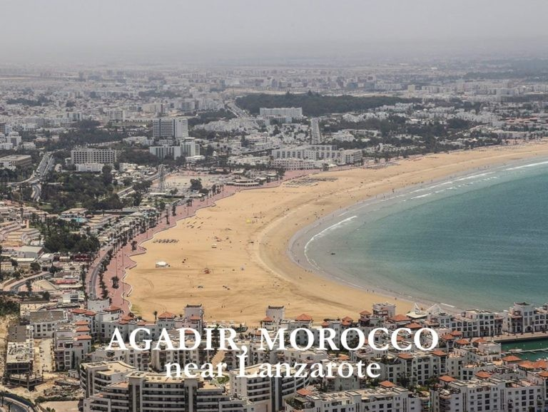 Agadir, the Miami of Morocco. So near to the Canary Islands
