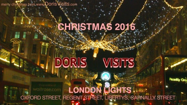 London Oxford Street Christmas Lights switch on today