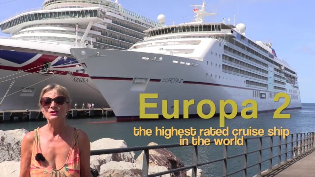 MS Europa 2 – the highest rated cruise ship in the world !!