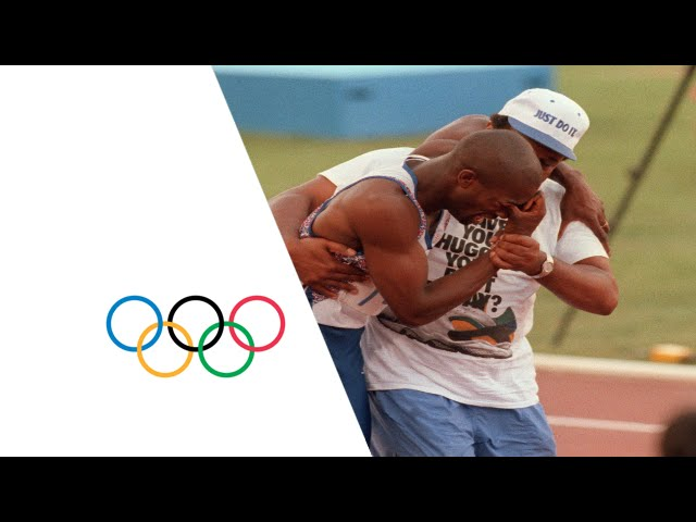 Derek Redmond on of Britain's best known athletes, a great entertainer