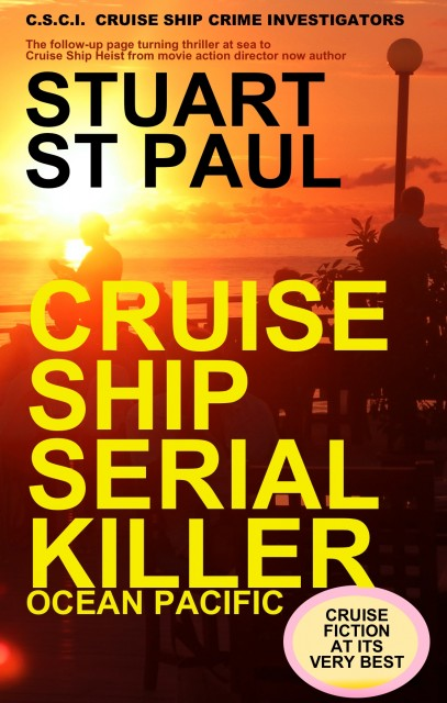 NOVEL – CRUISE SHIP SERIAL KILLER – out now