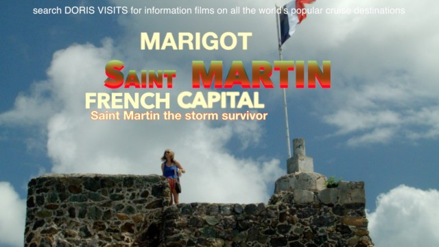 St Martin, Marigot. French side by public bus from Philipsburg