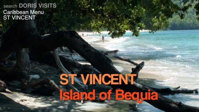 The Island Of Bequia in the Grenadines