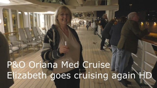 P&O Oriana, Elizabeth Goes Cruising Again for Doris Visits