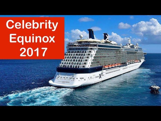 Celebrity Equinox, food and restaurants 2017