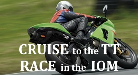 DOUGLAS, Isle of Man. A British Isles cruise + the TT race