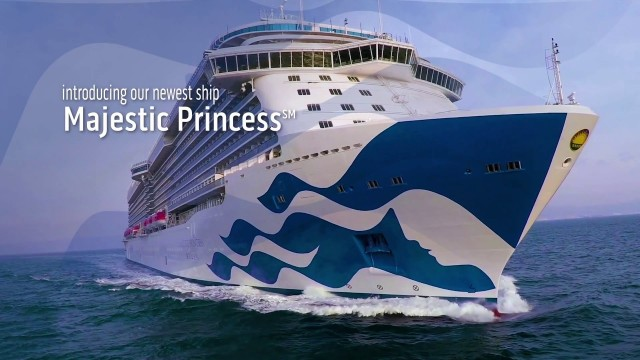 Majestic Princess – the newest version of the Britannia – Royal class ship
